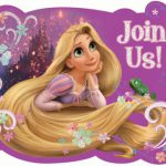 Tangled Birthday Party Invitations Printable 2018