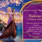 Tangled Invitations Printable