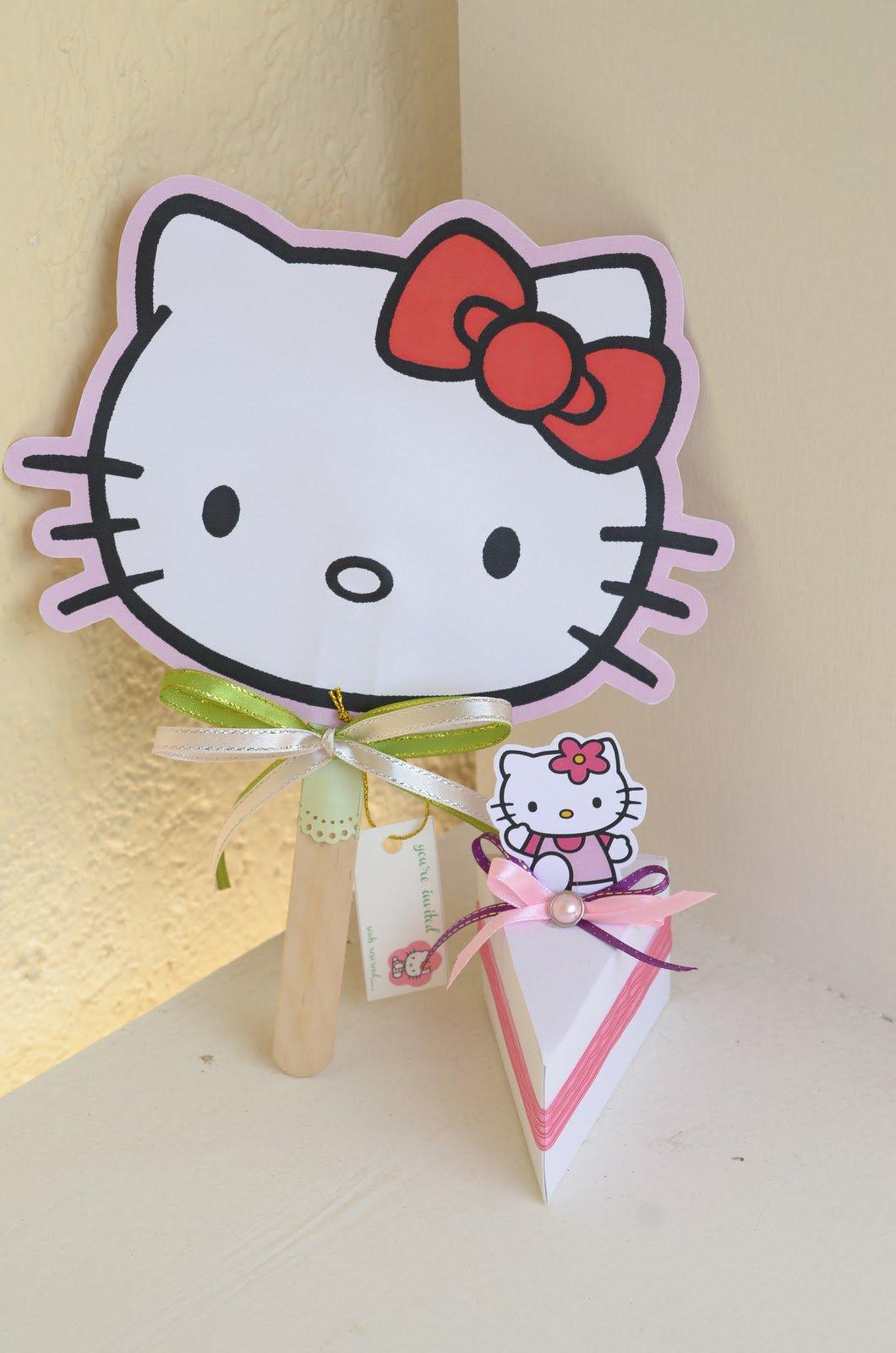 Tiny Prints Hello Kitty Birthday Invitations