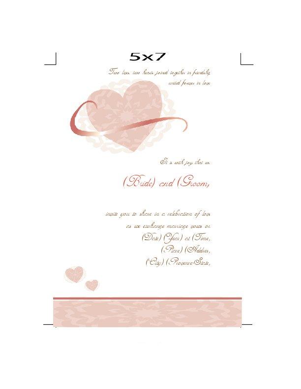 Wedding Invitations Printable Templates 2015