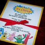 Yo Gabba Gabba Birthday Invitation Wording