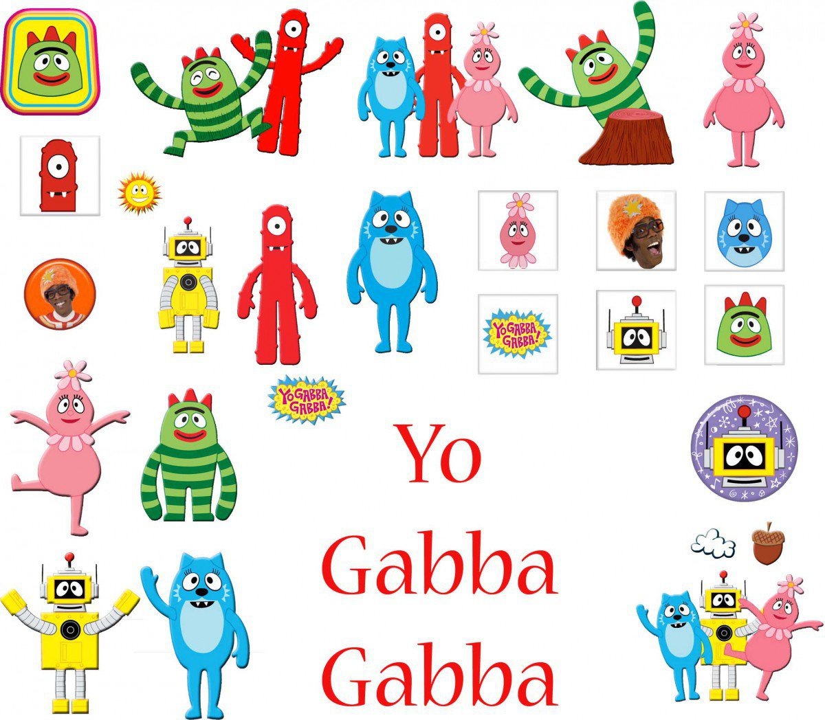 Yo Gabba Gabba Printable Invitations Free 2015
