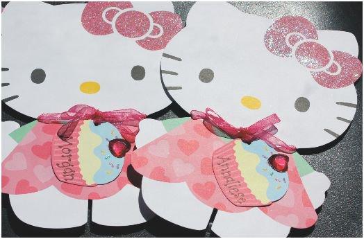 Zebra Print Hello Kitty Birthday Invitations 2017