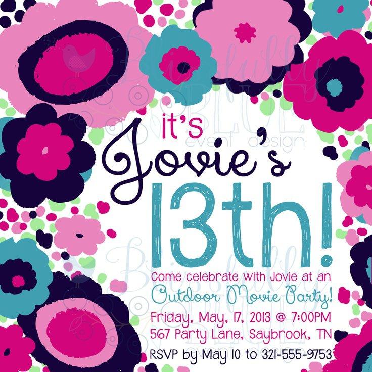 13 Birthday Invitation Templates