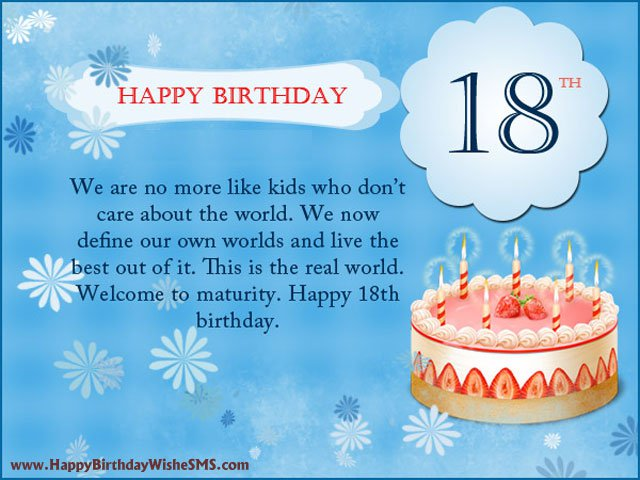 18th Birthday Invitation Poems