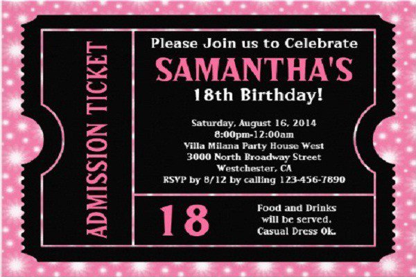 18th Birthday Quotes For Invitations