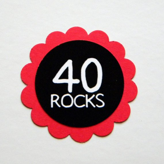 40th Birthday Printable Decorations