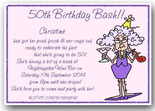 60 Birthday Party Invitations Wording
