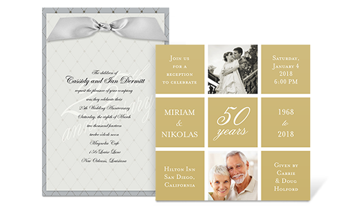 60th Anniversary Invitations Free Printable