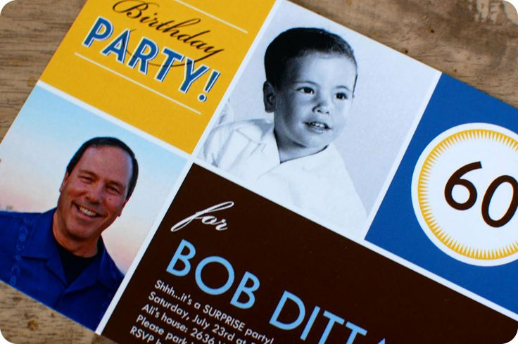60th Birthday Party Ideas For Dad Pinterest