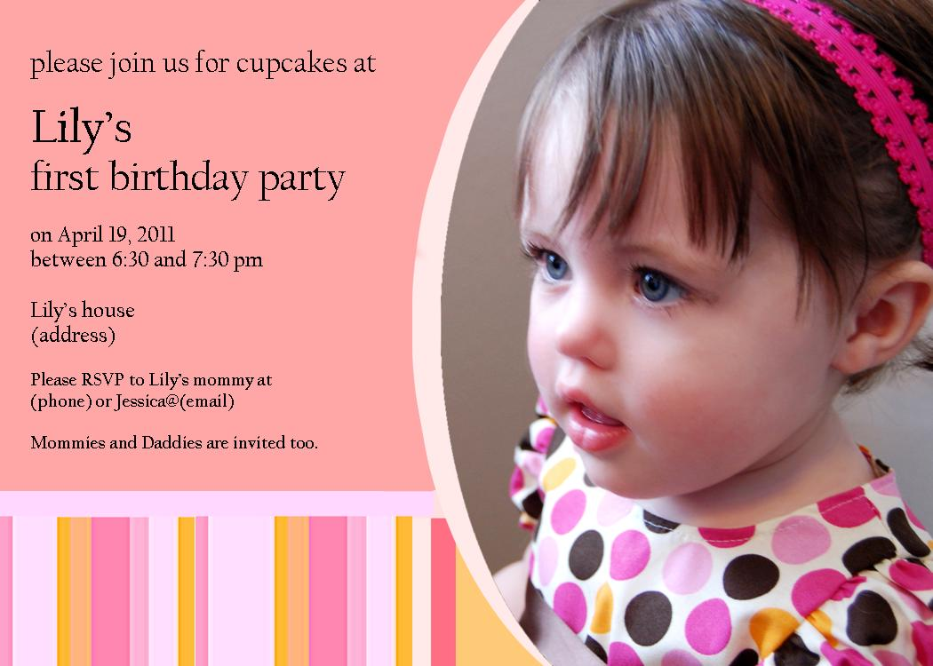 7 Year Old Girl Invitation