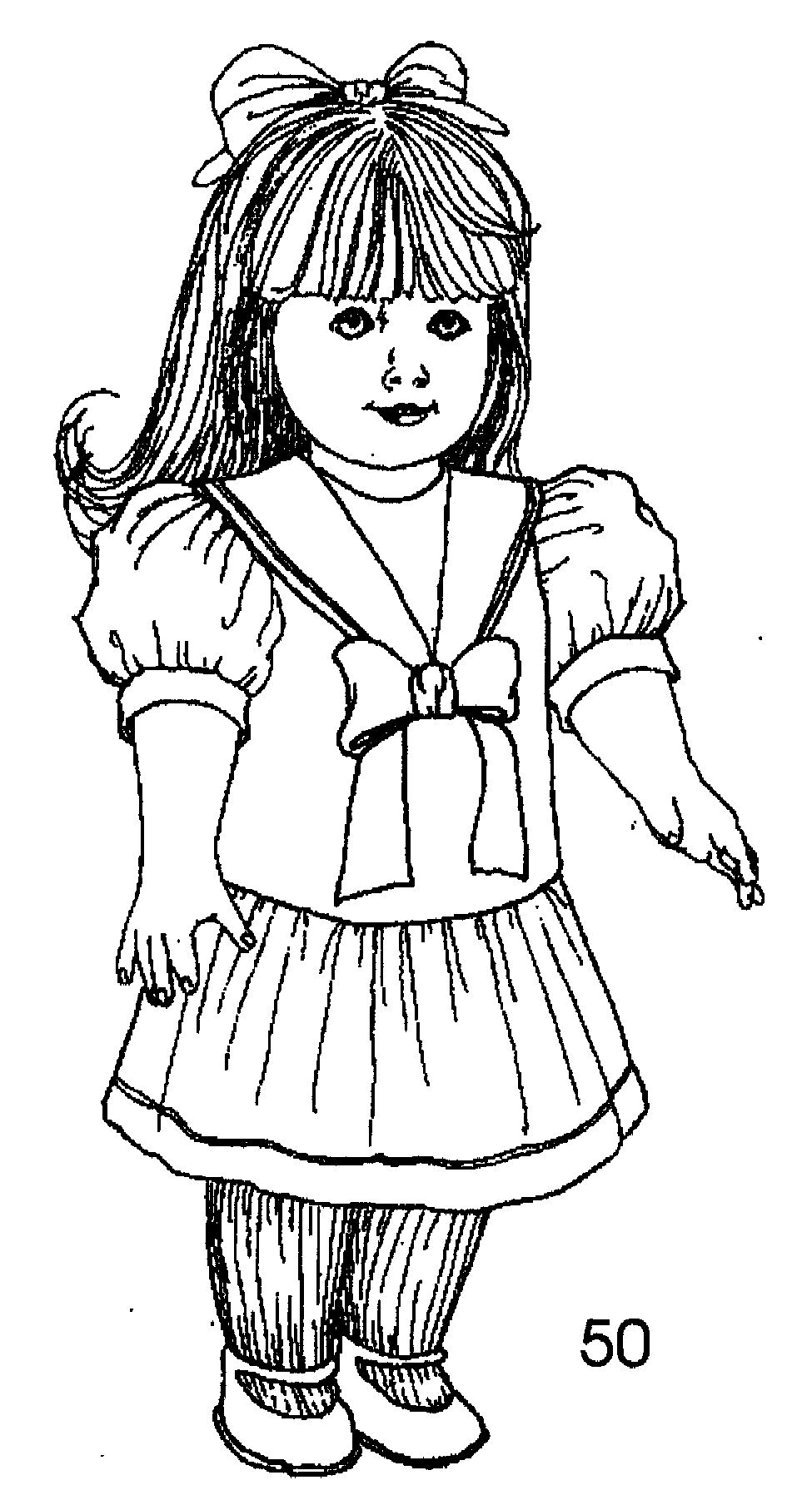American Girl Doll Free Printable Coloring Pages