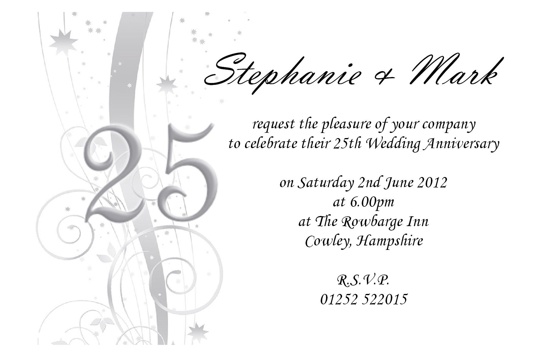 Party Invitations Templates Free – 50th Wedding Anniversary Invitation Templates Free