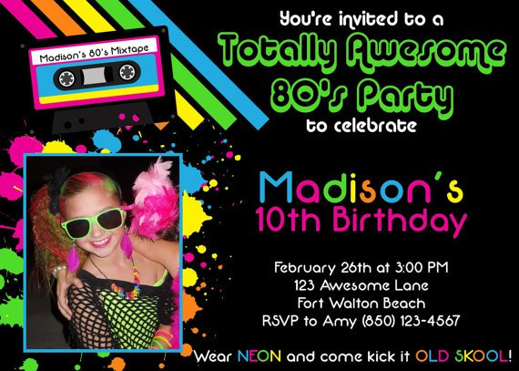 Awesome Printable Party Invitations