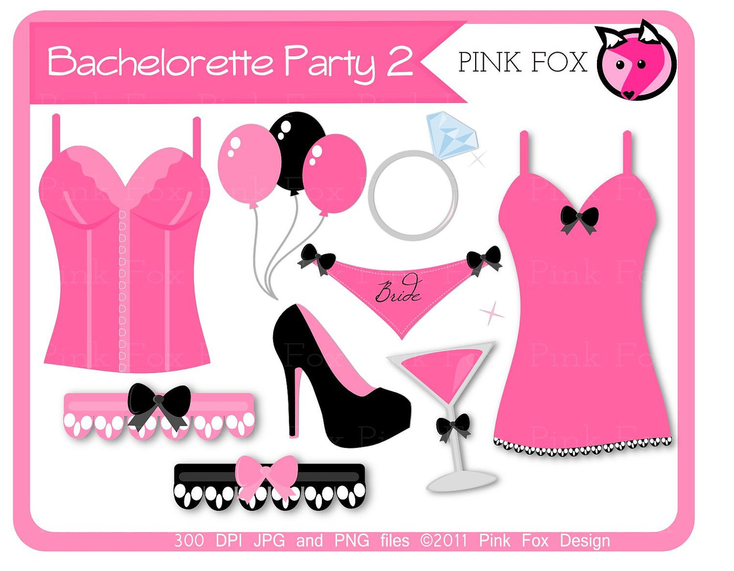 Bachelorette Party Clip Art Free