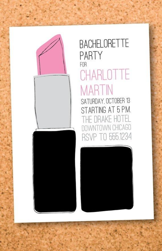 Bachelorette Party Invitations Printable