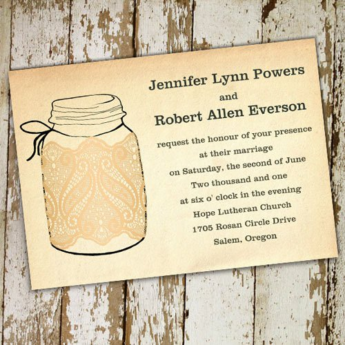 Barn Invitations Templates