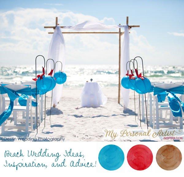 Beach Wedding Invitations Ideas