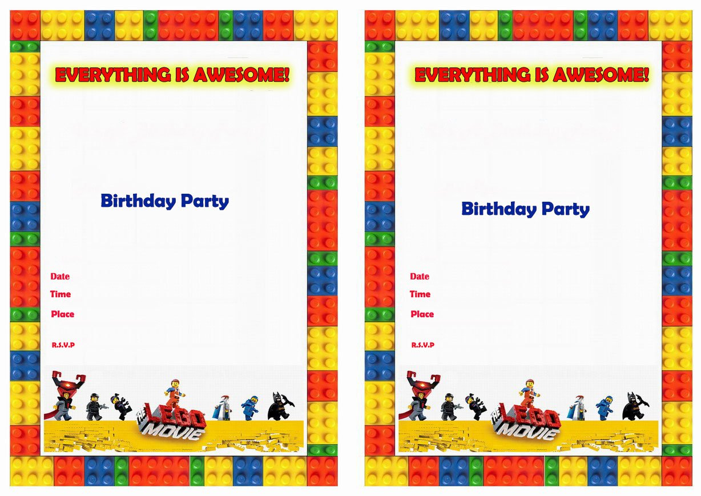 Lego Bday Invitations is great invitation design