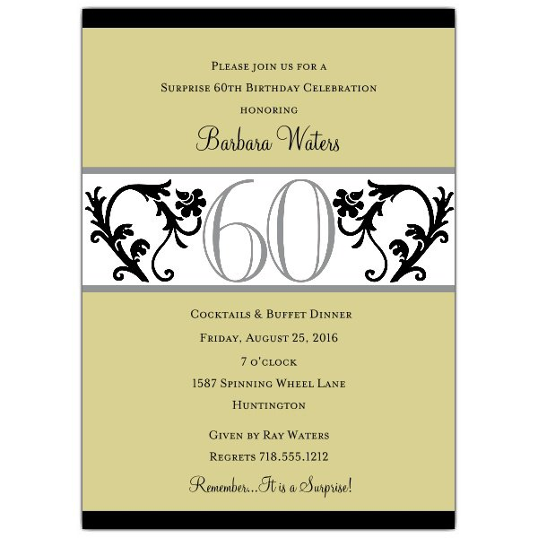 Birthday Invitations For Him Wording