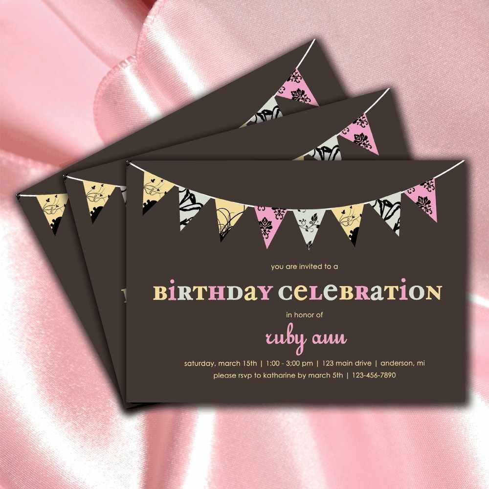 Invitations For Teenage Girls – Teenage Girl Birthday Party Invitations
