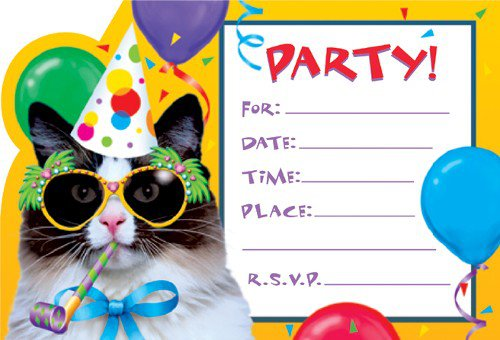 Birthday Party Invitation Wording Ideas