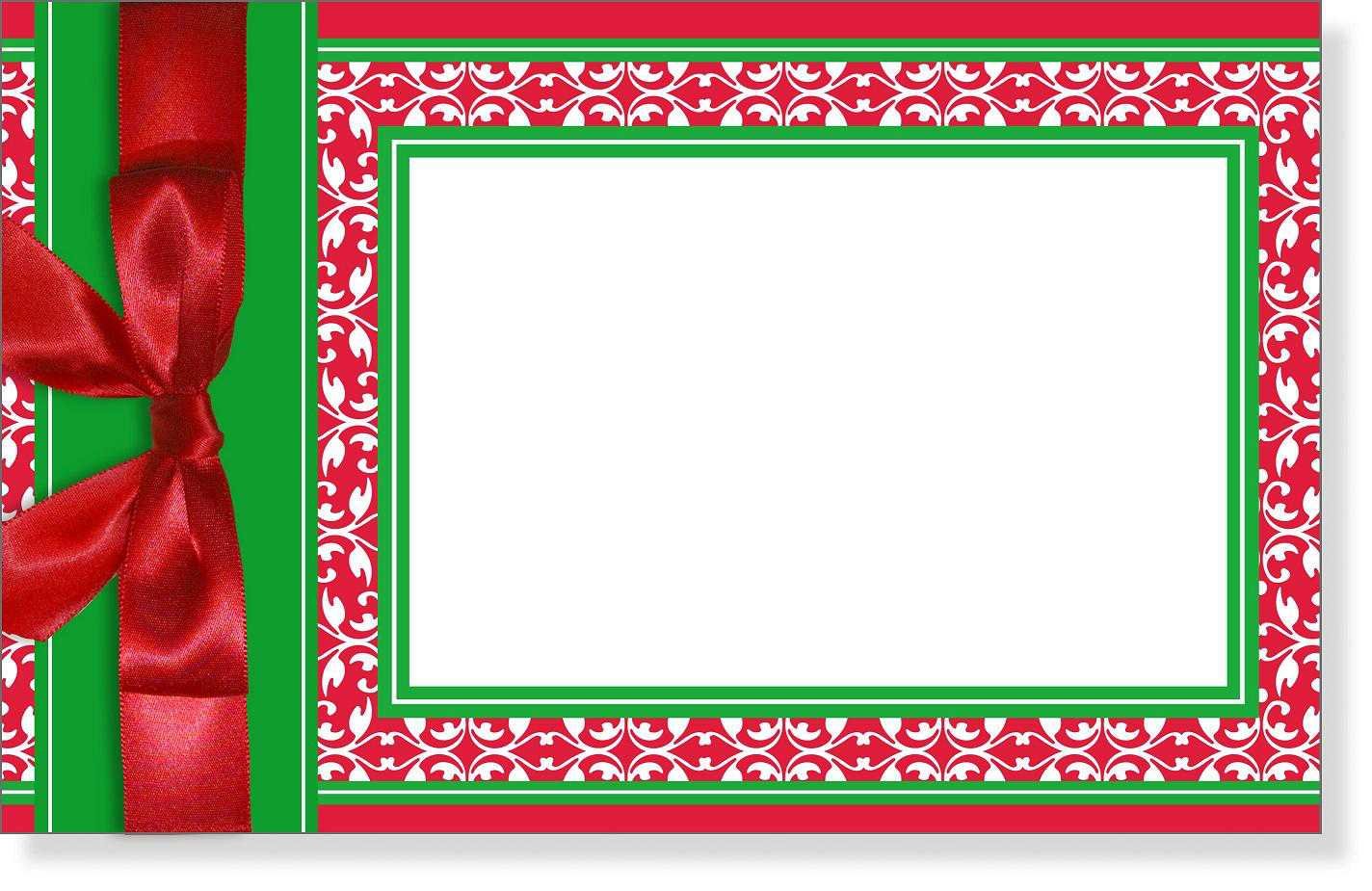 Blank Christmas Party Invitations Templates