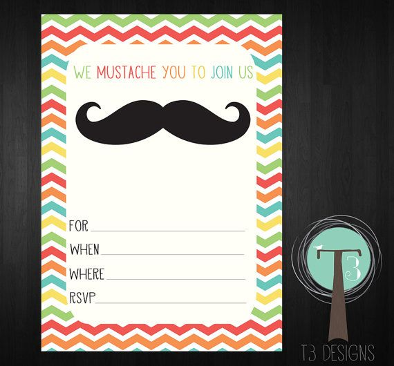 Blank Party Invitations Design