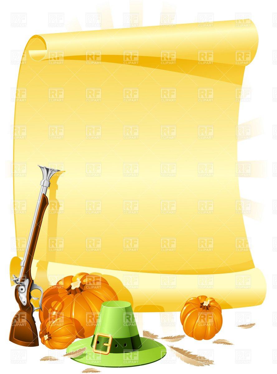 Blank Thanksgiving Invitations