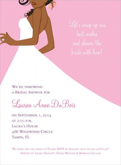 Bridal Bachelorette Invitations
