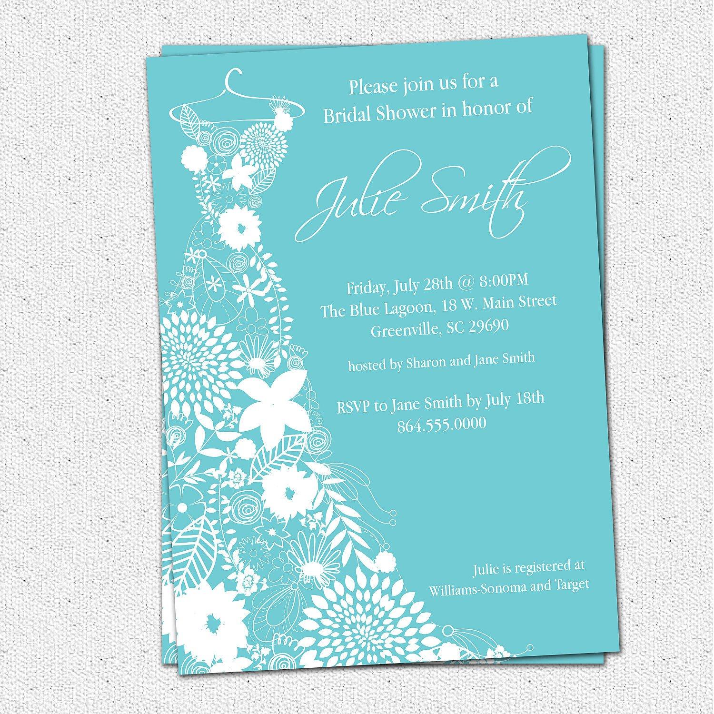 Bridal Shower Invitations Printable Free