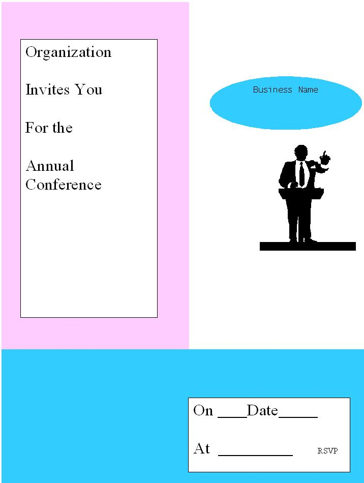 Business Luncheon Invitation Templates – Lunch Invitation Templates