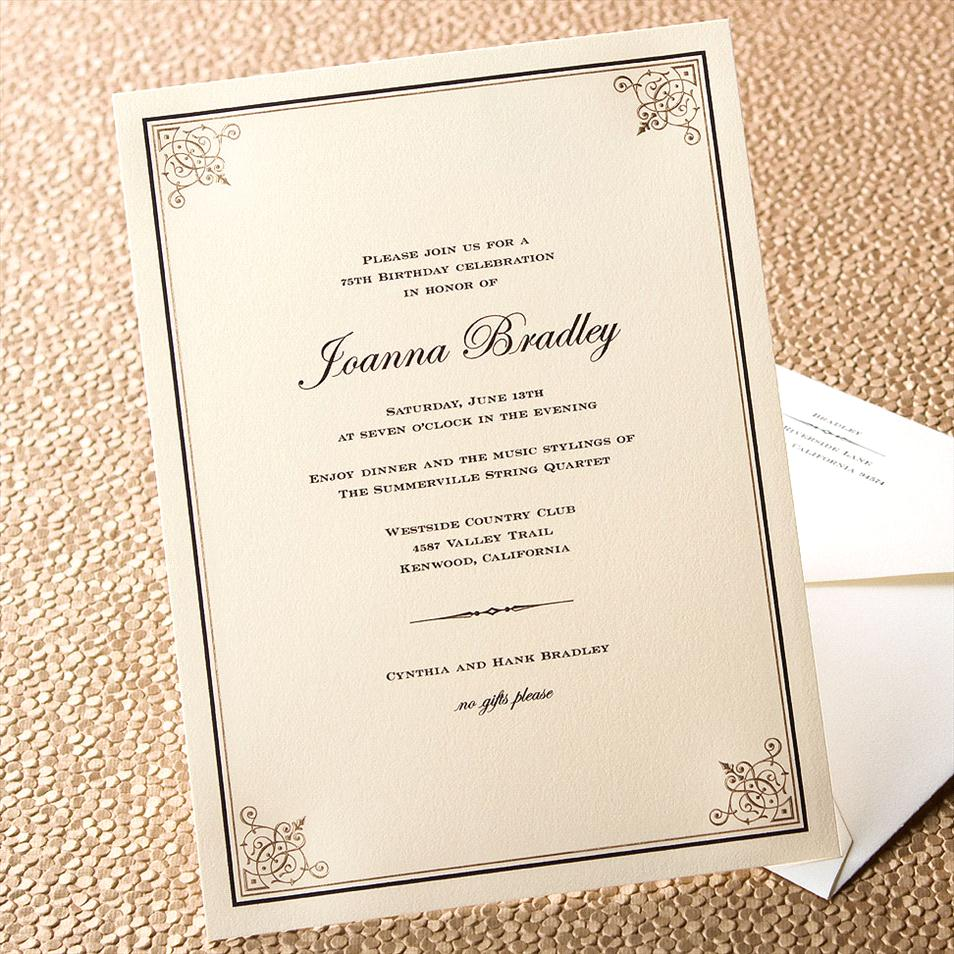 Business Dinner Invitation Wording