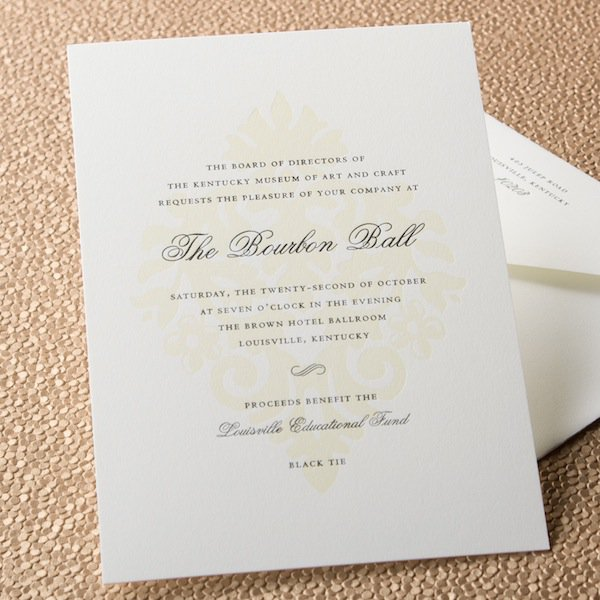Business Dinner Meeting Invitation Cards