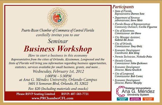 Business Seminar Invitation Templates