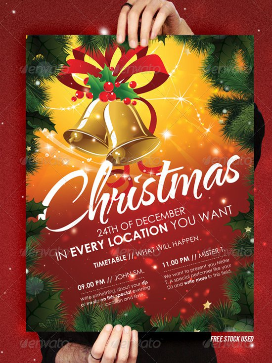 Christmas Flyer Templates Free