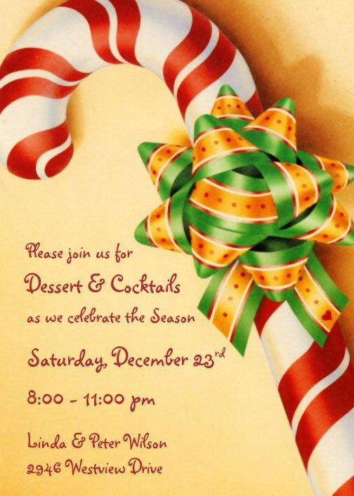 Company Christmas Party Invitation Ideas