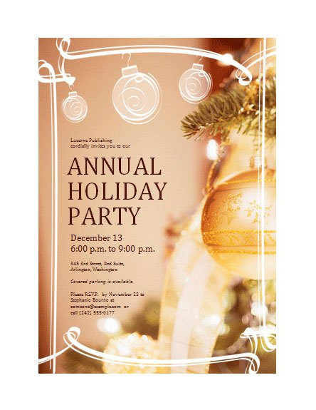 company christmas party invitations. Black Bedroom Furniture Sets. Home Design Ideas