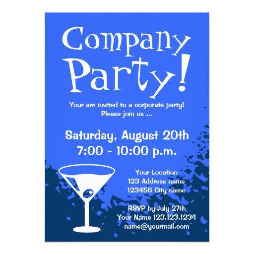 Company Party Invitation
