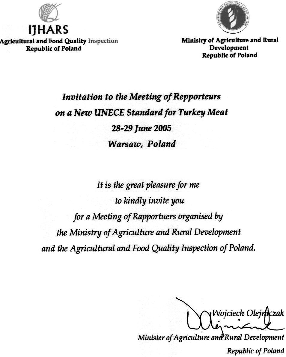 Company Party Invitation Letter