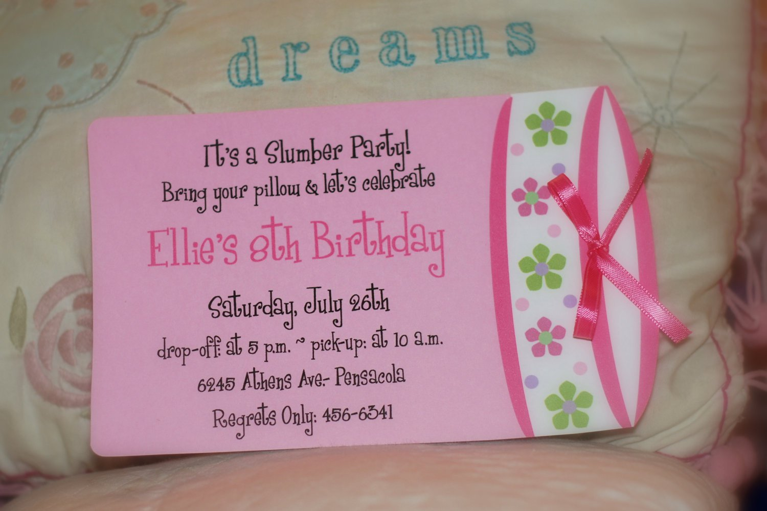 Slumber Party Invitations – How to Make Slumber Party Invitations