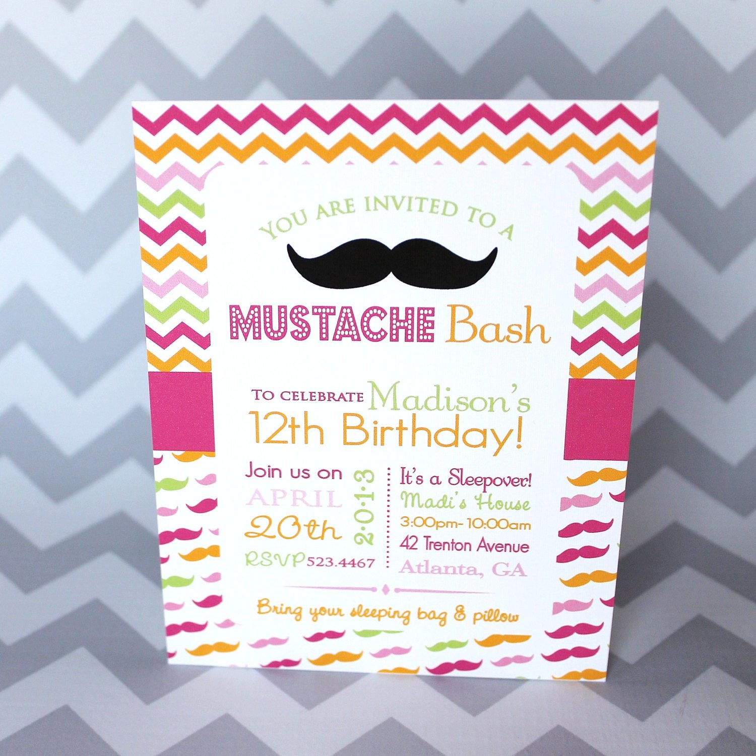 Cool Teen Birthday Invitations