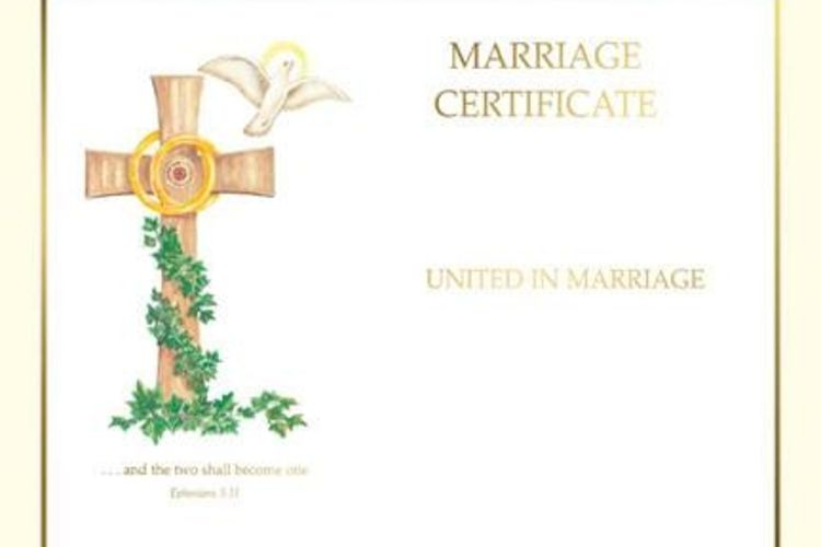 Create A Free Marriage Certificate Online