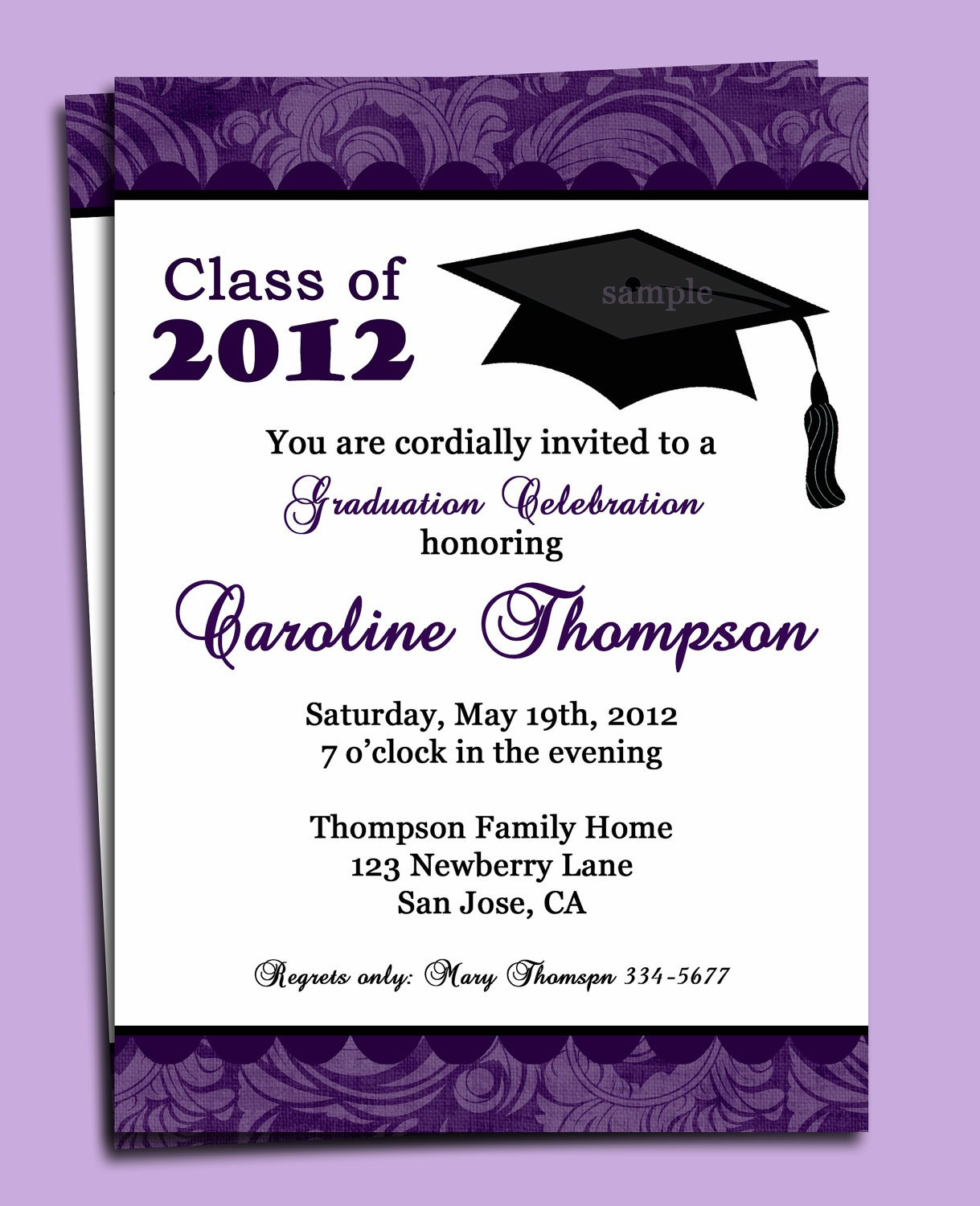 Create And Print Free Graduation Announcements