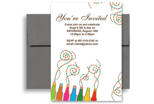 create free printable birthday invitations