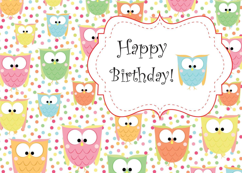 Cute Printable Birthday Cards For Mom
