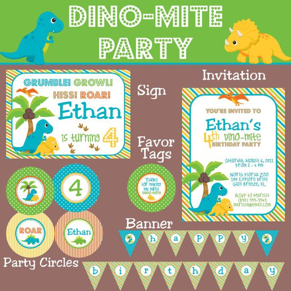 Dinosaur Party Printables Free