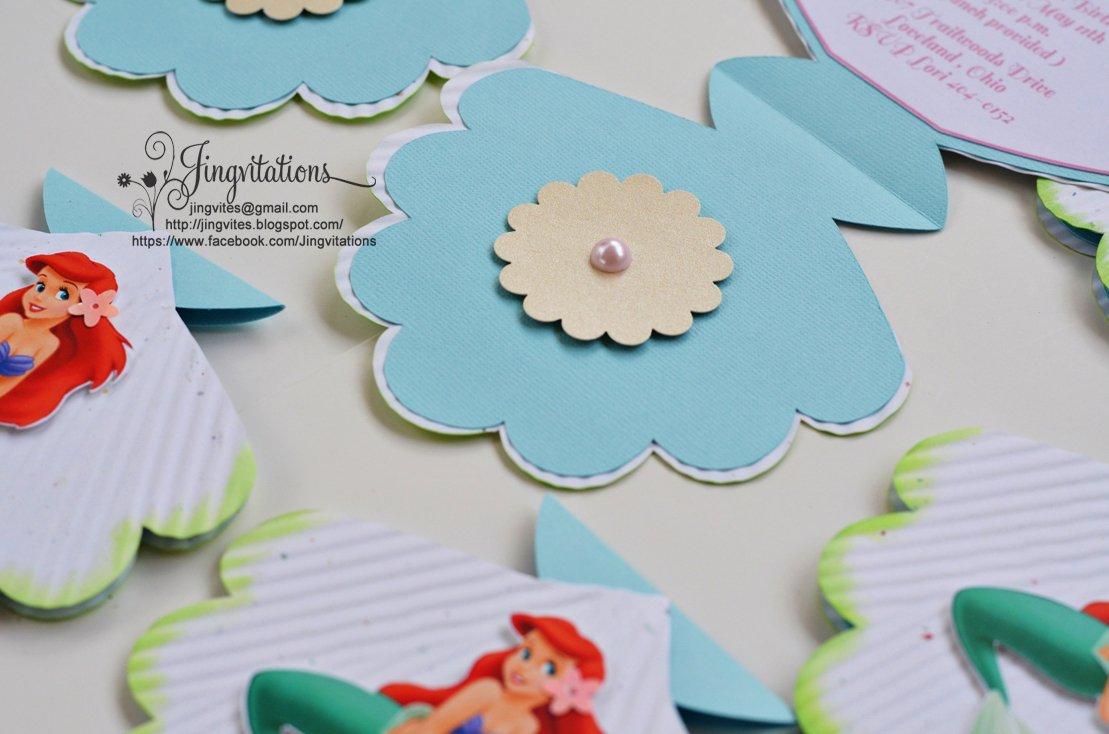Princess Ariel Invitations