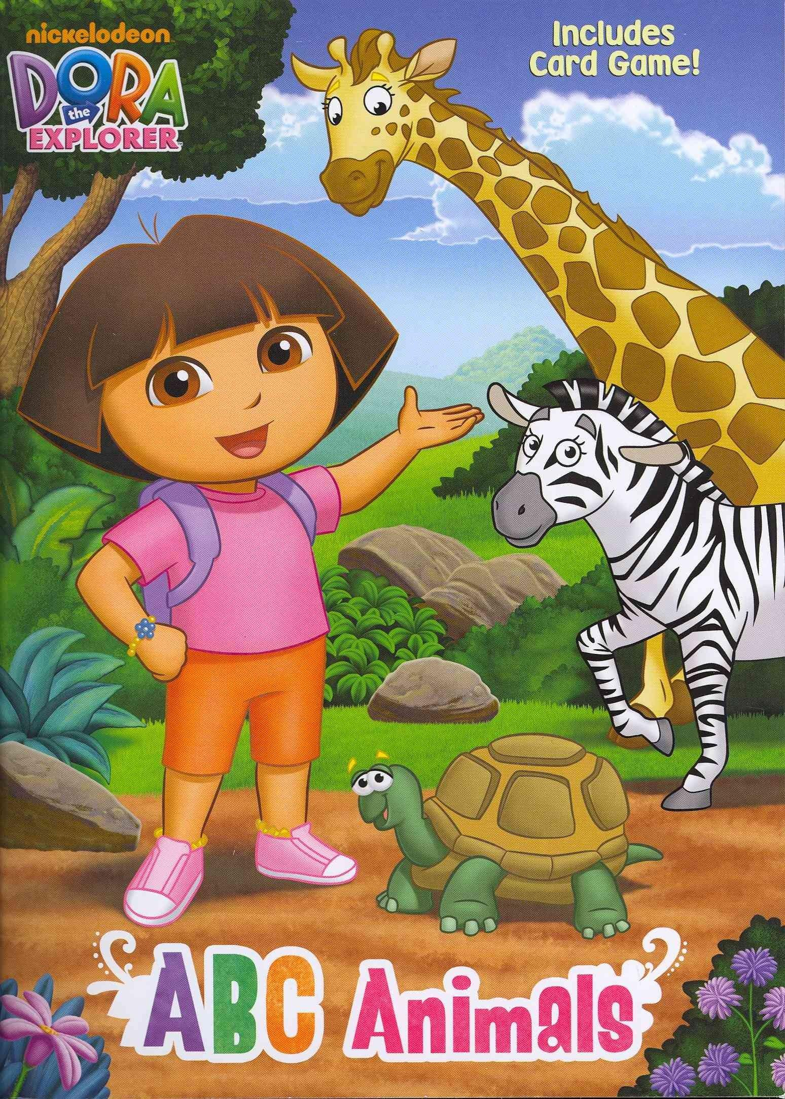 Dora The Explorer Abc Animals