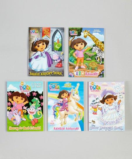 Dora The Explorer Abc Animals Book